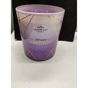 Fragrant Jewels February Amethyst Candle